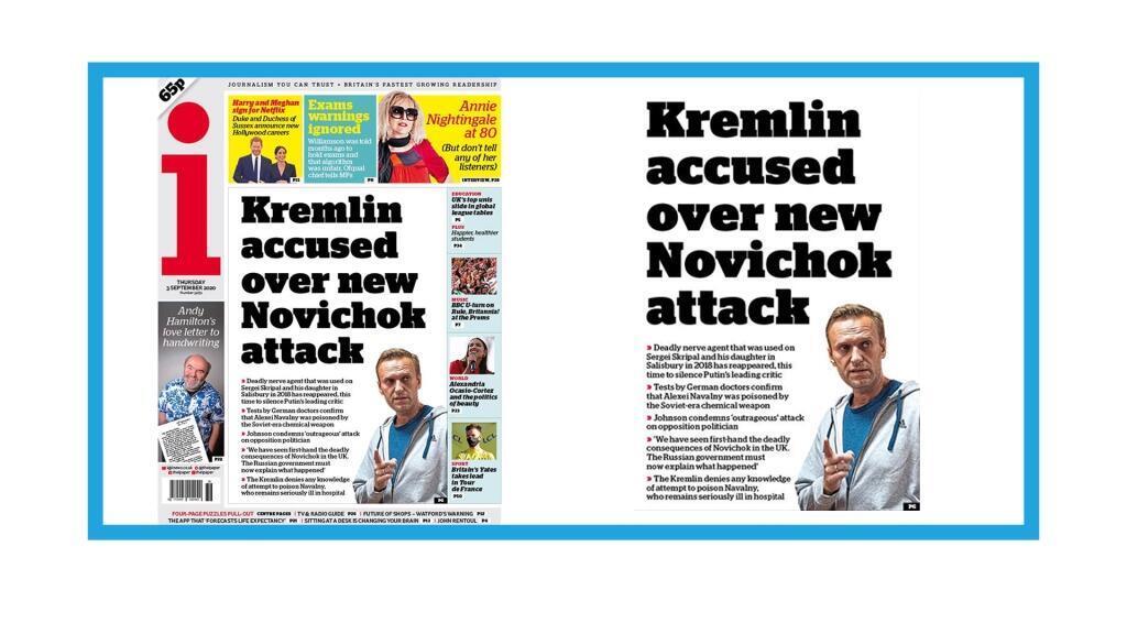 L'opposant russe Alexeï Navalny empoisonné au Novitchok selon Berlin