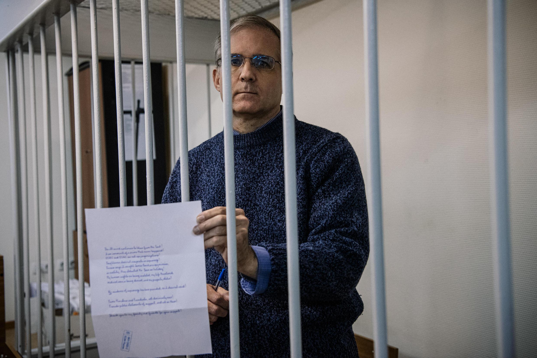 El exmarine estadounidense Paul Whelan, de cincuenta años, se encuentra recluido en una prisión de Moscú desde que fue arrestado en diciembre de 2018.