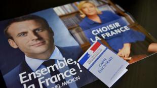 Emmanuel Macron et Marine Le Pen ont donné jeudi leurs derniers meetings de campagne.