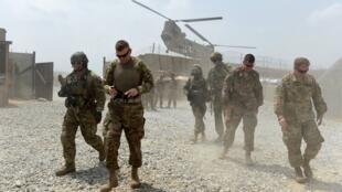 جنود أمريكيون في أفغانستان في العام 2015
