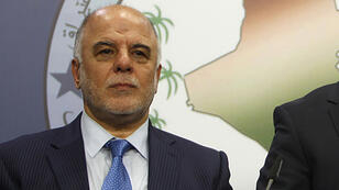 رئيس الحكومة العراقي، حيدر العبادي.