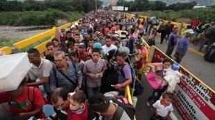 La Colombie est devenue le premier pays d'accueil pour les migrants venus du Venezuela.