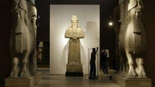 القاعة الآشورية في المتحف العراقي