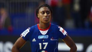 La capitaine de l'équipe de France de Handball Siraba Dembélé