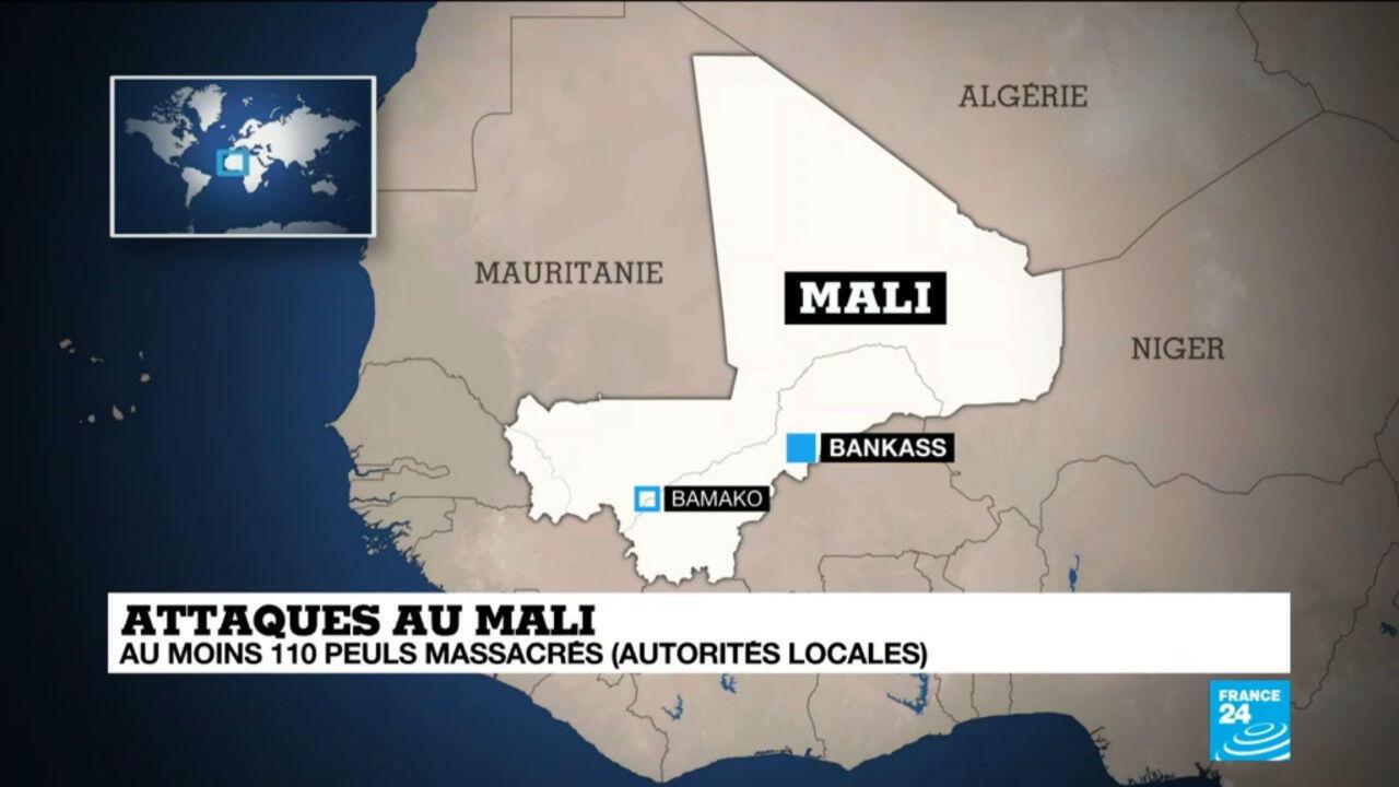 L'attaque a eu lieu à proximité de la ville de Bankass, dans le centre du mali