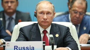 Le président russe Vladimir Poutine lors du sommet des puissances émergentes des Brics en Chine, le 5 septembre 2017.