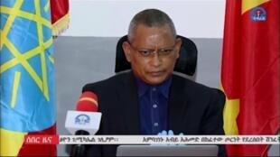 Debretsion Gebremichael, présidentde la région du Tigré