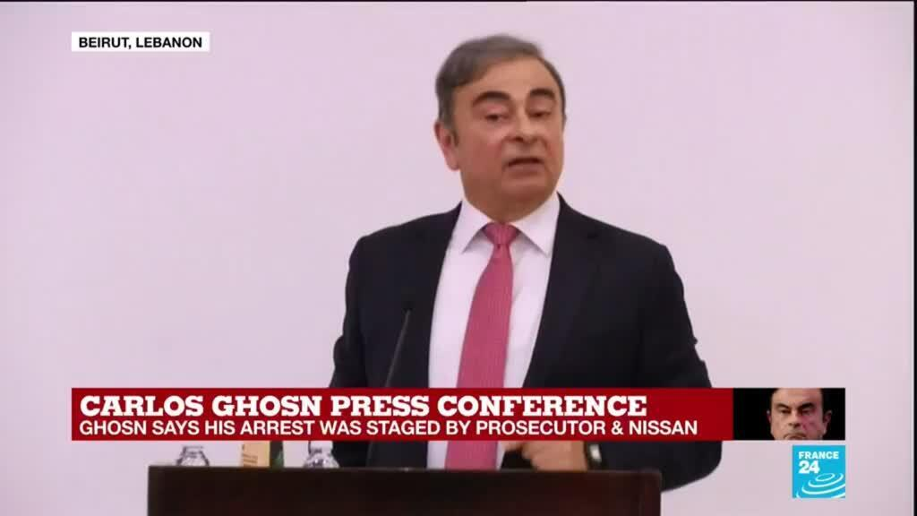 """2020-01-08 15:04 Carlos Ghosn: """"Why Japan is paying me with evil for the good I've done to the country?"""""""