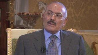 Ali Abdullah Saleh talks to FRANCE 24 (22/01/2012)