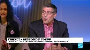 2020-03-07 11:05 Philippe Modolo sur France 24: Pas de grande difficulté dans la collecte à cause du covid-19