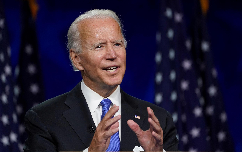 Joe Biden le 20 août 2020 dans le Delaware.