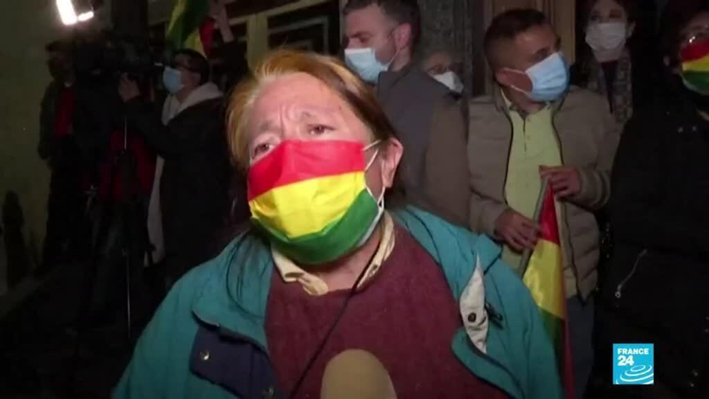 2021-03-16 13:40 Bolivia: protestas en varias ciudades en rechazo al encarcelamiento de Jeanine Áñez