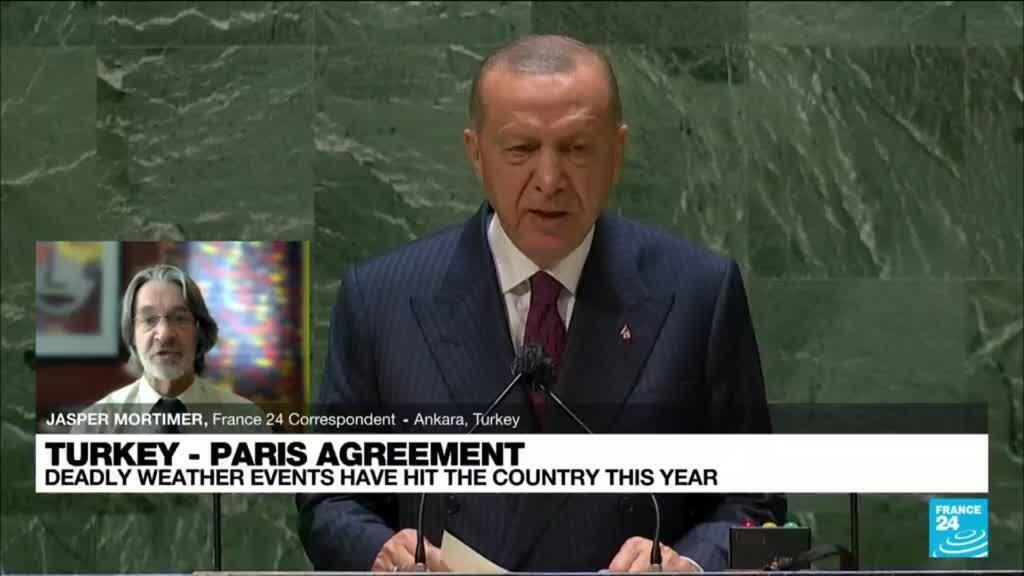 2021-09-22 13:02 Paris climate agreement to be presented to Turkish parliament