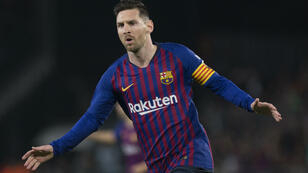 C'est un Lionel Messi en grande forme qui permet au Barça de consolider sa place de leader en Liga.