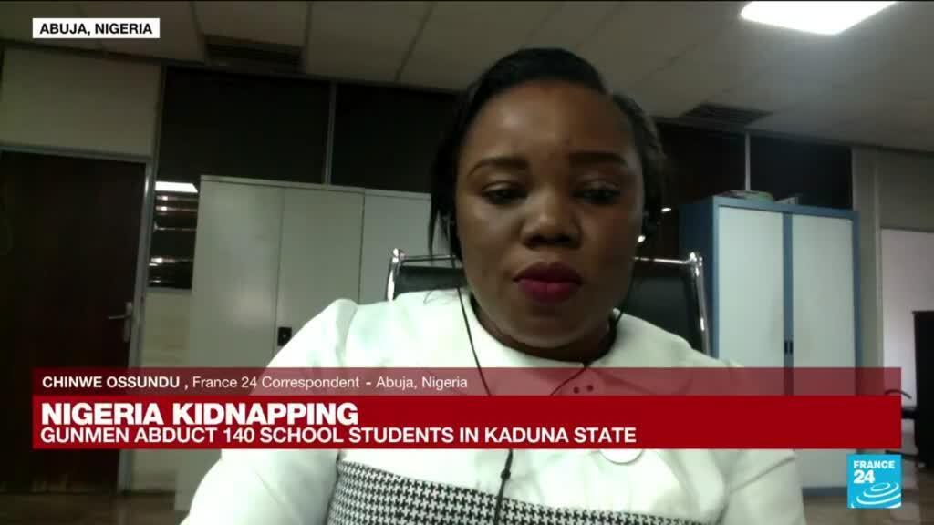 2021-07-05 14:31 Gunmen kidnap 140 school students in northwest Nigeria