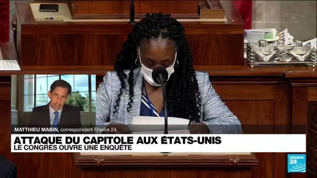 2021-07-27 19:10 Attaque du Capitole : le Congrès américain ouvre une enquête