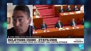 """2020-06-01 13:06 Relations Chine/Etats-Unis : Pékin dénonce la """"maladie chronique"""" du racisme américain"""
