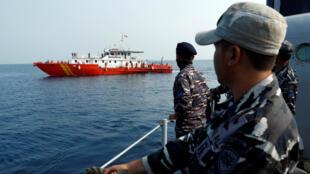 Las operaciones de búsqueda se han intensificado en el mar de Java luego de recibir señales procedentes del fondo del agua el 31 de octubre de 2018