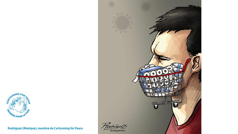 L'actu en dessin : la planète au rythme du coronavirus