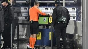 Video Replay: VAR technology make its debut at Champions League matches this week.