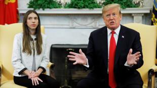 Donald Trump instó a Rusia a salir de Venezuela el 27 de marzo durante el encuentro que sostuvo con la esposa del dirigente, Juan Guaidó, en la Casa Blancaa Rusia a sali