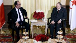 """""""لوباريزيان"""" قالت إن قضية """"إيغل أزور"""" تم تناولها خلال زيارة هولاند الأخيرة للجزائر"""