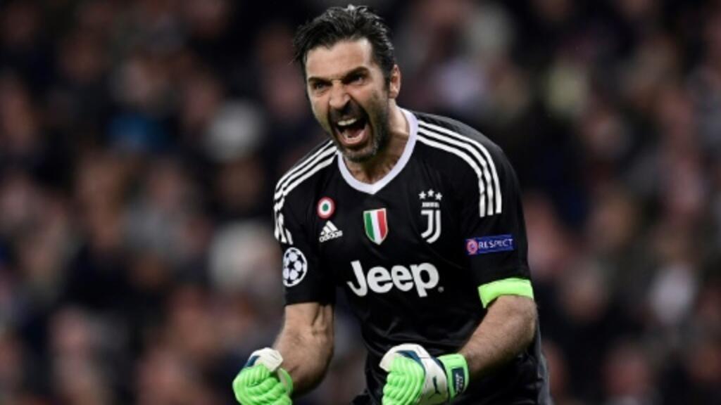 pretty nice 0c61b a62b5 Raging Buffon's crazy Champions League farewell