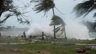 """""""Cette catastrophe naturelle pourrait être l'une des pires dans l'histoire du Pacifique"""", a déclaré la directrice exécutive de l'Unicef Nouvelle-Zélande."""