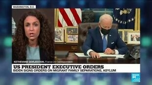 2021-02-03 09:11 Biden signs immigration orders as Congress awaits more