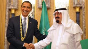 En 2009, le roi Abdallah avait décoré Barack Obama de l'ordre du mérite du roi Abdul Aziz.