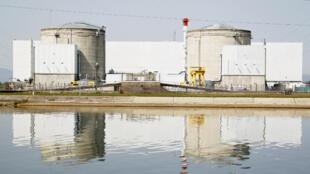Fessenheim, la plus vieille centrale du parc nucléaire français (archives)