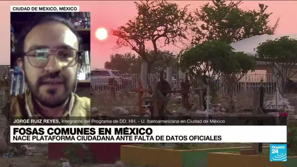 """2021-09-15 03:11 Jorge Ruiz: """"Recolectaremos la mayor cantidad de información sobre fosas clandestinas en México"""""""