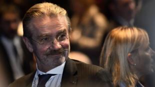 Le président de la Ligue professionnelle de football Frédéric Thiriez a annoncé son retrait.