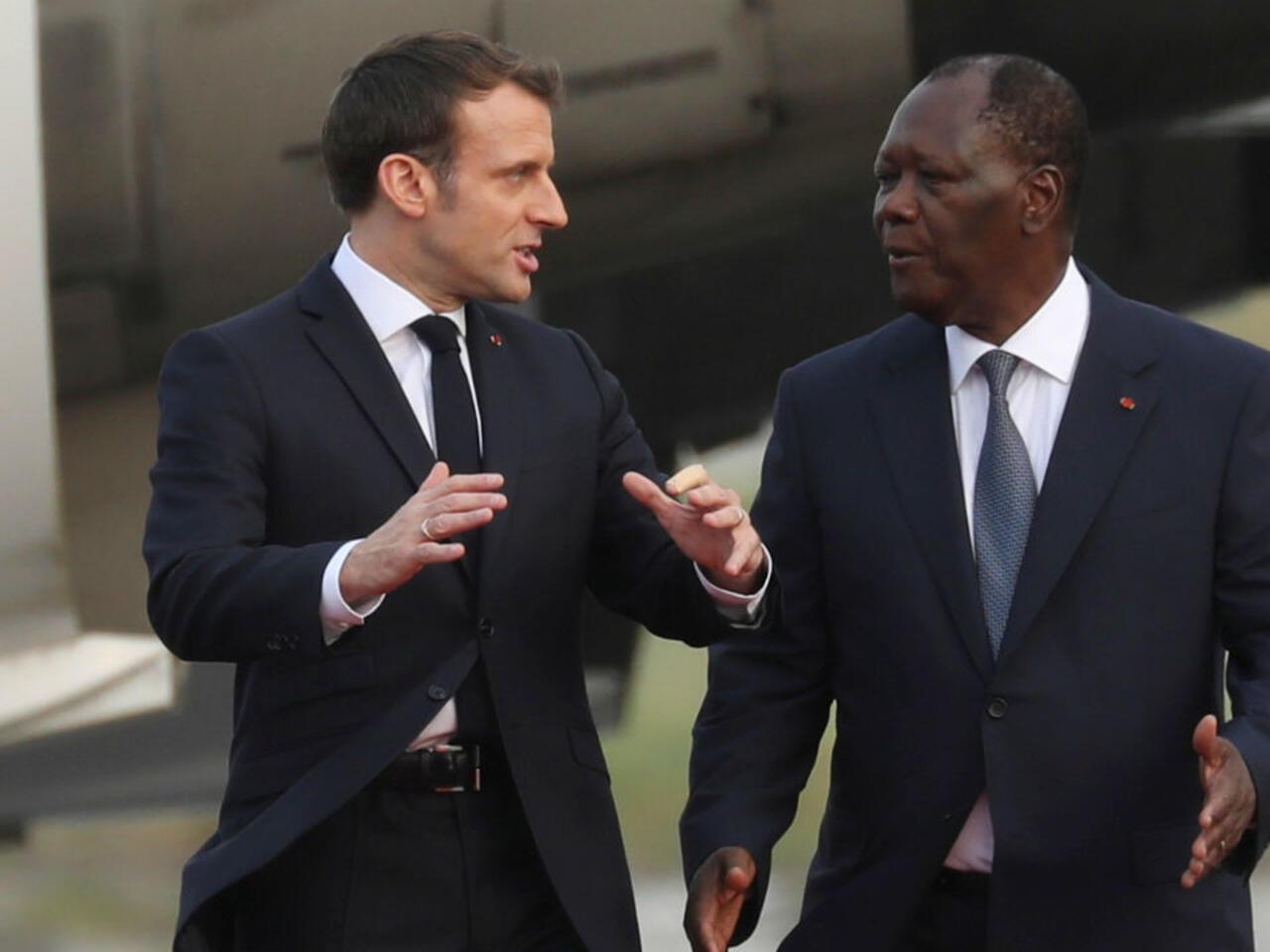 A Abidjan Emmanuel Macron Veut Renforcer Les Relations Franco Ivoiriennes
