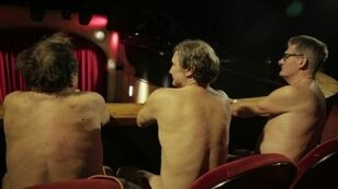 The producers insisted the audience must strip off to see the play, a one-off show about a brother and sister who find themselves on opposing sides of sensitive social issues