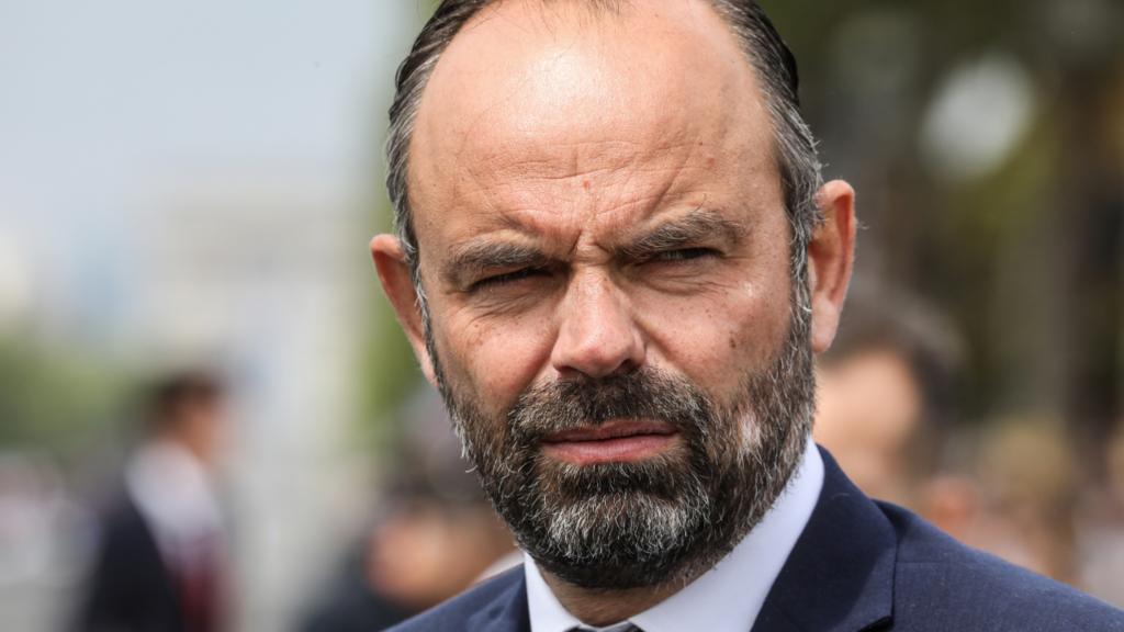 Édouard Philippe, primer ministro de Francia. Archivo.
