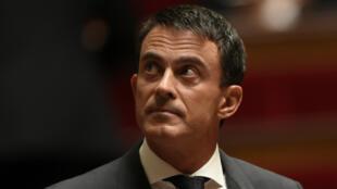 Le Premier ministre français Manuel Valls, le 15 septembre 2015.