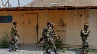 جنود أفغان في قاعدة أميركية سابقة في أتشين بشرق أفغانستان في 26 تموز/يوليو 2020