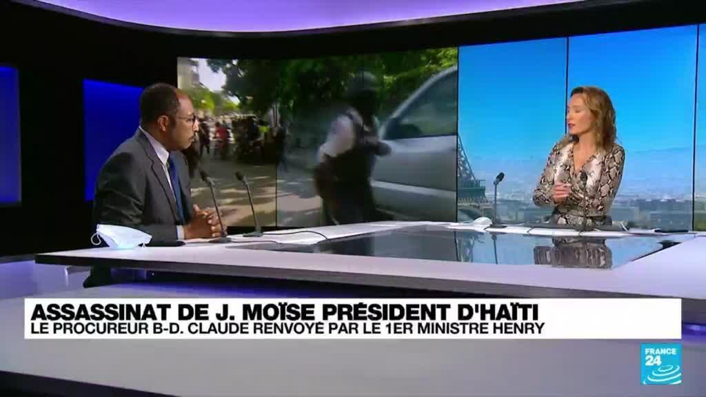 """2021-09-15 18:23 Haïti: """"Pour le moment, aucune solution constitutionnelle légale n'est viable"""""""