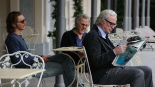 "Paul Dano, Harvey Keitel et Michael Caine dans ""Youth"" de Paolo Sorrentino."