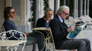 "Paul Dano, Harvey Keitel et Michael Caine dans ""Youth"" de Paolo Sorrentino."