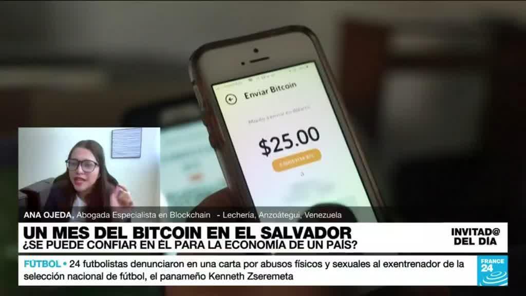 """2021-10-07 15:20 Ana Ojeda: """"El rechazo al bitcoin en El Salvador también está asociado a la falta de información"""""""