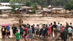 La isla de Mandanao, al sur de Filipinas, es la más afectada tras el paso de Tembin.