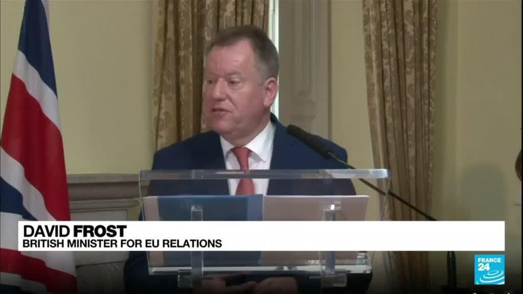 2021-10-13 08:02 Post-Brexit deal: Stop the poison, UK's Frost tells EU over Northern Ireland