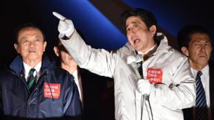 Shinzo Abe est assuré d'être réélu, dimanche, malgré la situation économique japonaise.