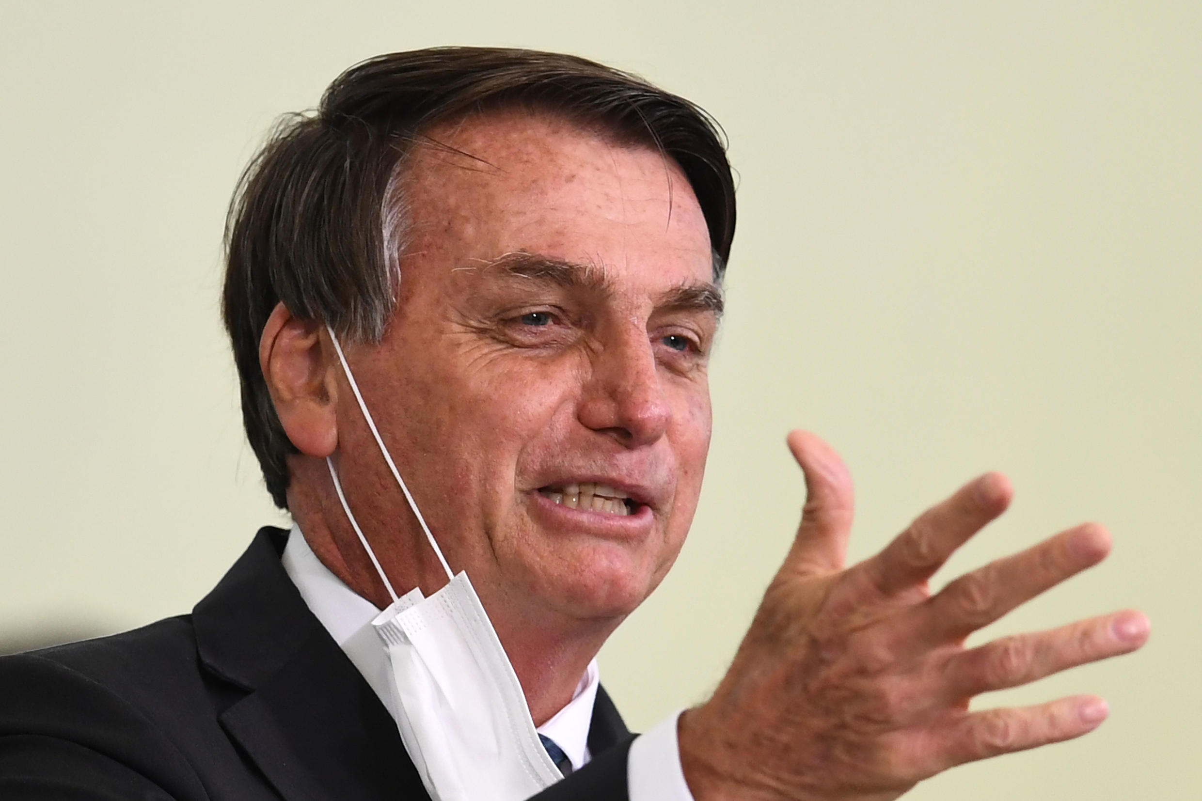 Brazilian President Jair Bolsonaro has had a series of health issues, including four surgeries stemming from an attack in which he was stabbed in the abdomen