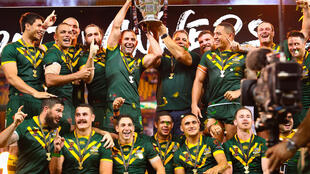 Australia's Kangaroos have won the rugby league World Cup 11 times