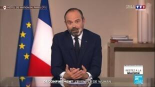 """2020-04-03 08:02 Coronavirus : """"Le déconfinement ça n'est pas pour demain matin"""", déclare Édouard Philippe"""