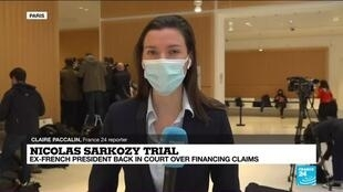 2021-03-17 13:07 Former French president Sarkozy back in court, this time for illegal campaign financing