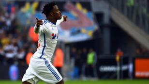 Le Belge Michy Batshuayi a inscrit dimanche le deuxième but marseillais contre Lille.